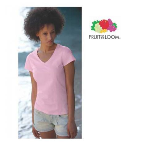 Lady Fit  V Neck T ženska majica